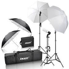 Photo Studio Lighting Kit Ebay Emart Em Ulk45 Photography Studio Lighting Kit