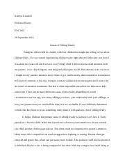 cause and effect essay sibling rivalry sibling rivalry will  2 pages sibling rivalry