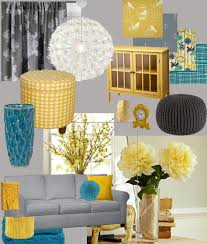 Teal Decorating For Living Room Gray Yellow Teal Curtains Decor Rodanluo