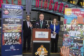 paul battson contributorduring a press event on thursday john percy president and ceo of niagara tourism convention corp discusses uping summer
