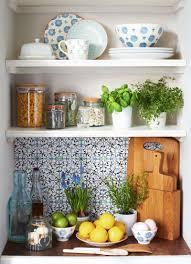 Kitchen Shelf How To Artfully Arrange An Open Kitchen Shelf Sainsburys Home