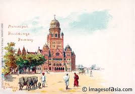 Image result for LAND RECLAMATION IN BOMBAY PAINTINGS