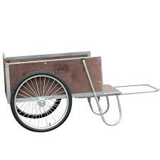 wooden garden cart kit lightweight wagon two wheeled plastic