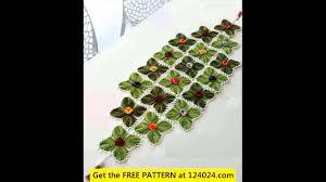 Crochet Table Runner Patterns Easy New Design