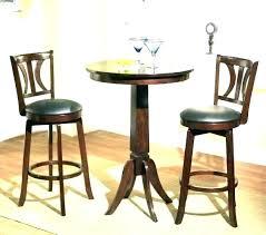 round pub table set rustic pub tables sets 3 piece pub table set
