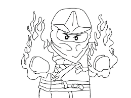 Lego Ninjago Coloring Pictures Free Printable Coloring Pages For