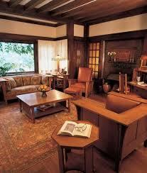 craftsman furniture. craftsman interior style with stickley furniture