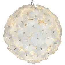 glass flower chandelier by cenedese