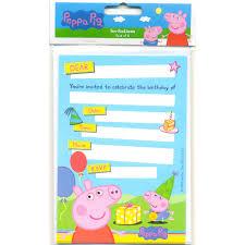 peppa pig birthday invitations templates peppa pig birthday invitations template