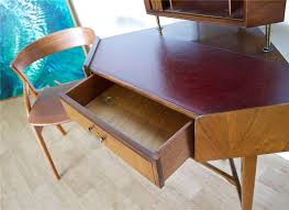 Compact Corner Desk Vinterior Vintage Midcentury Antique Design Furniture
