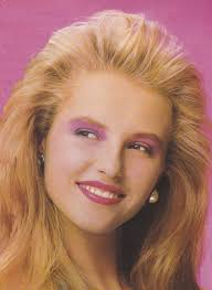 80s makeup women picture