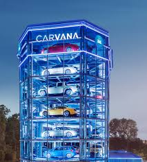 Carvana Vending Machine Atlanta Interesting Online Car Buying With Carvana And Vroom