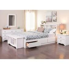 queen platform bed frame with drawers.  With Image Is Loading WhiteQueenSizePlatformBedFrameStorageDrawers Intended Queen Platform Bed Frame With Drawers R