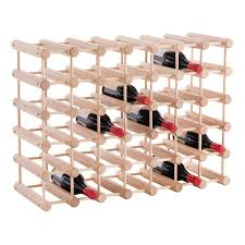 J.K. Adams Hardwood 40-Bottle Wine Rack ...