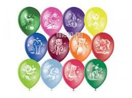 Купить <b>Набор воздушных шаров</b> Поиск <b>Веселый</b> зоопарк 30cm ...