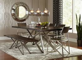 Unique dining room tables Inspiring Neutral Dining Room Kcc Modern Living 10 Creative Ideas For Dining Room Walls Freshomecom