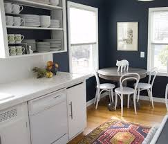 Kitchens With White Cabinets And Blue Walls Color Portfolio Navy Inspiration