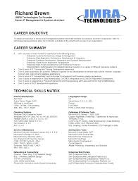 Career Objective On Resume Template Custom System Admin Career Objective Here Are Resume Templates Objectives