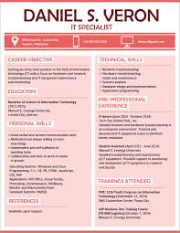 Resume Download Interesting Resume Templates You Can Download JobStreet Philippines