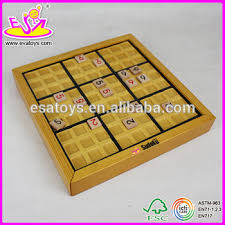 Wooden Sudoku Game Board Hot New Product For 100 Wooden Sudoku Toy For KidsEducational 65