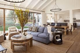 comfortable farmhouse living room