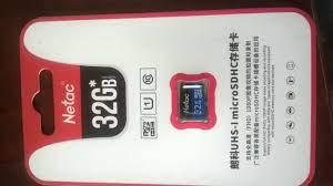 Thẻ nhớ Micro SD Netac 32GB