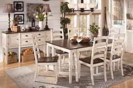 ashley whitesburg dining set. whitesburg dining table + 6 side chairs from gardner-white furniture ashley set l