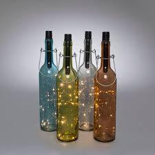 Decorative Wine Bottles With Lights Home Decor Vases Jars Bottles at LightBulbs 93