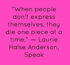 quote from the book speak by laurie halse anderson psychology  quote from the book speak by laurie halse anderson psychology stuff food for thought beautiful words truths and quotation