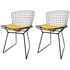 Set of 4 Diamond Wire Side Chair by Harry Bertoia for Knoll ...