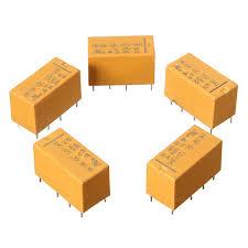 popular power pcb relay buy cheap power pcb relay lots from cnim hot 5 pcs dc12v shg coil dpdt 8 pin 2no 2nc mini power relays pcb
