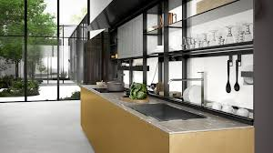 Kitchen Glass Design Images Valcucine Modern And Fitted Designer Italian Kitchens