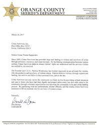 Support Letters Crime Survivors Resource Center Official Site