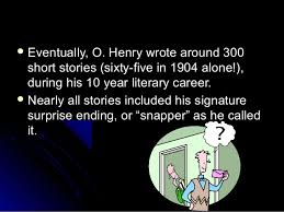 o henry power point 5
