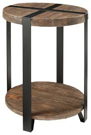 wood end tables. Elegant Round Wood End Table Reclaimed Rustic Natural Industrial Side Tables