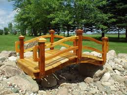 Small Picture Backyard Bridges Design Backyard Landscape Design