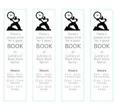 Free Blank Bookmark Template
