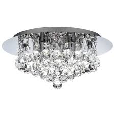 ceiling lights for low ceilings bathroom chandelier for low ceilings in chrome with glass droplets ceiling