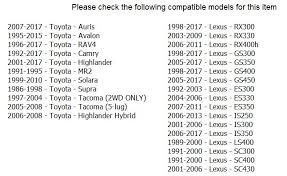Toyota Tacoma Lug Pattern Magnificent Bs Offset Chart Like Toyota Bolt Pattern Resizrco