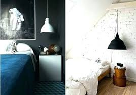 hanging light plug in lamp into wall lamps black and white pendant s62