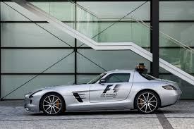 2013 Mercedes-Benz SLS AMG GT is the New F1 Safety Car