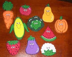15 Different Fruits And Vegetables Craft Ideas For Kids With