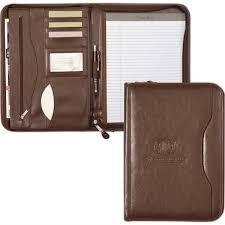 Deluxe Executive Vintage Leather Padfolio Goimprints