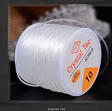 Moq=1pc Cords 0.6/0.7/0.8/1.0/1.2mm <b>Stretch Elastic Transparent</b> ...