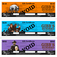 gift certificates certs