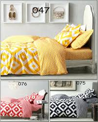 black and yellow duvet covers black white and yellow duvet cover new yellow black white red grid twin full queen king 3 4pcs bedding set bedclothes sets