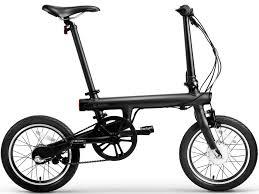 <b>Электровелосипед Xiaomi MiJia</b> QiCycle Черный Складной в ...