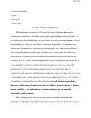 candidequestions why does the baron throw candide out of the  6 pages candide essay