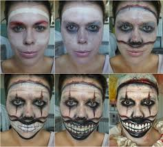 make up twisty the clown from american horror story laura louise makeup