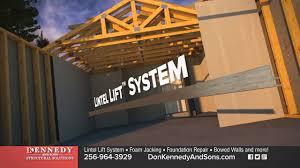 garage lintel repair garage door header don kennedy and sons structural solutions